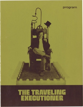 The Traveling Executioner (Original Film Program). Jack Smight, Garrie Bateson, Mariana Hill...