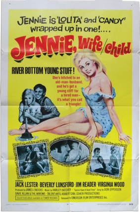 Jennie: Wife / Child [Jennie, Wife / Child] (Original poster for the 1968 film). Robert Carl...