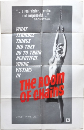 The Room of Chains (Original poster for the 1970 film). Gerard Trembasiewicz, Jacques Bernard,...