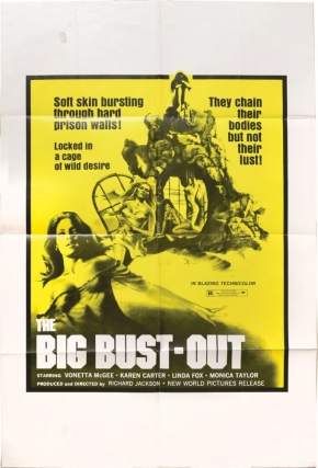 The Big Bust-Out (Original poster for the 1972 film). Richard Jackson, Sergio Garrone, Monica...