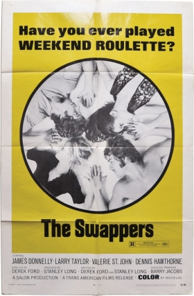 The Swappers (Original poster for the 1970 film). Derek Ford, Barry Jacobs Stanley Long, Larry...