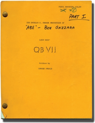 QB VII (Original screenplay for the 1974 television mini-series, actor Ben Gazzara's working...