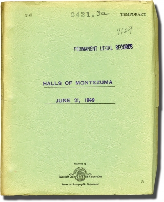 Halls of Montezuma (Original screenplay for the 1951 film). Lewis Milestone, Michael Blankfort,...