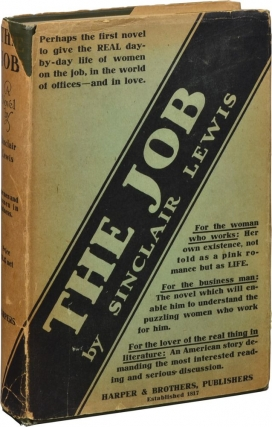 The Job (First Edition). Sinclair Lewis