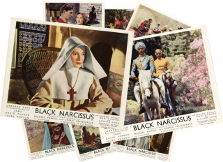 Black Narcissus (Complete set of British front-of-house cards for the 1947 film). Michael Powell,...