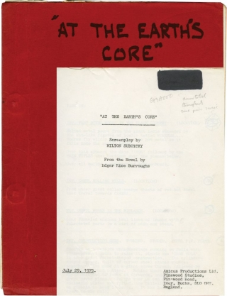 At the Earth's Core (Original screenplay for the 1976 film). Kevin Connor, Edgar Rice Burroughs,...