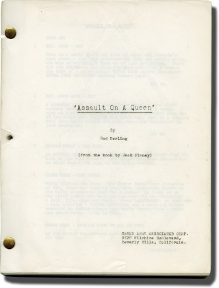 Assault on a Queen (Original screenplay for the 1966 film). Jack Donohue, Jack Finney, Rod...