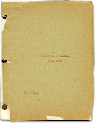 Lady on a Train (Original screenplay for the 1945 film). Leslie Charteris, Charles David, Robert...