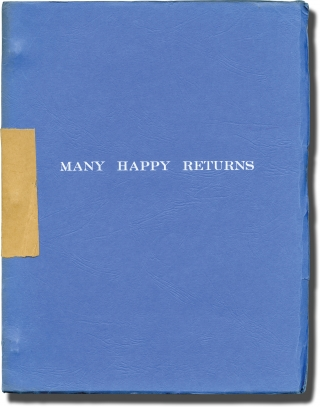 The Selling of a Musical '74 [Many Happy Returns] (Original script for an unproduced play). music...