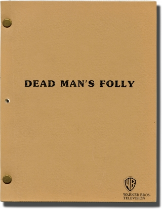 Dead Man's Folly (Original teleplay script for the 1986 television movie). Clive Donner, Agatha...
