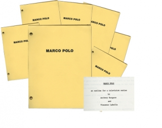 Marco Polo (Original screenplay for the 1982 television mini-series). Anthony Burgess, Giuliano...