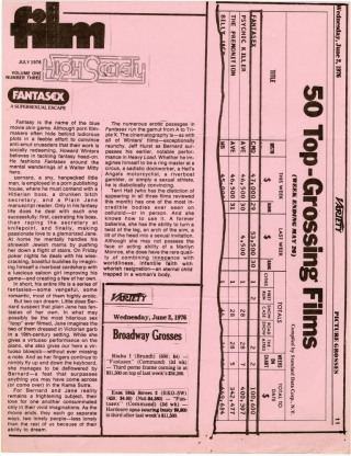 Archive of 74 pressbooks and ad supplements for hardcore adult films made between 1966-1987