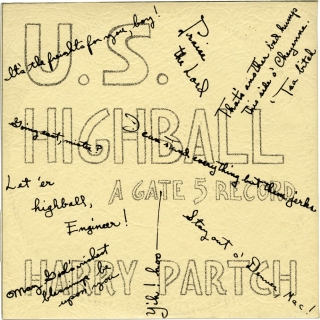 U.S. Highball - Gate 5 Records, Issue No. 6 (First pressing, inscribed to Amos Vogel in 1960)....