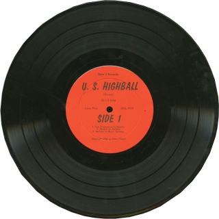 U.S. Highball - Gate 5 Records, Issue No. 6