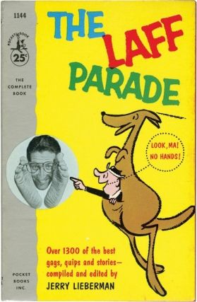 The Laff Parade (First Edition). Jerry Lieberman, compiled and