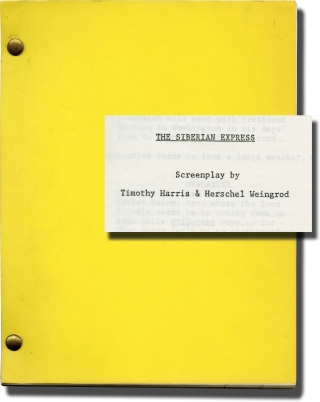 The Siberian Express (Original screenplay for an unproduced film). Timothy Harris, Laurence Mark...