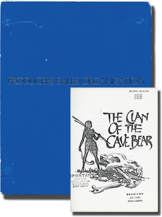 The Clan of the Cave Bear (Original screenplay for the 1986 film). Michael Chapman, Jean M. Auel,...