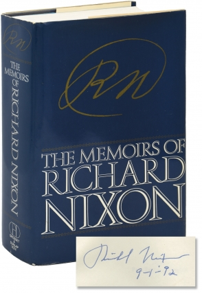 The Memoirs of Richard Nixon (Signed First Edition). Richard Nixon