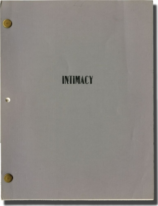 Intimacy: A Sentimental Visit (Original screenplay for an unproduced television episode). Leora Barish, Henry Bean, story screenwriter, story.