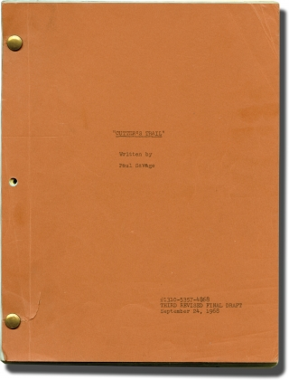Cutter's Trail (Original screenplay for the 1970 television movie). Vincent McEveety, Paul...