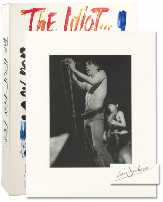 "The Idiot: Rainbow Theatre, London, 5 March 1977 (Signed ""DeLuxe"" Limited Edition). Ian Dickson,..."