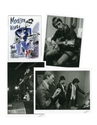 "Modern World: The Jam, 13 June, 1977 (Signed ""DeLuxe"" Limited Edition). Ian Dickson, The Jam,..."