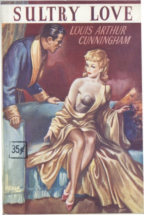 Sultry Love (First UK Edition). Louis Arthur Cunningham