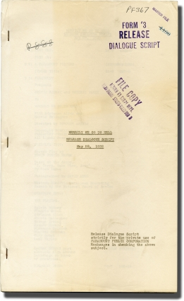 Merrily We Go to Hell (Post-production script for the 1932 film). Dorothy Arzner, Cleo Lucas,...