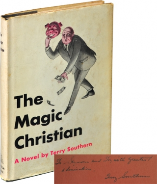 The Magic Christian (First Edition, inscribed to producer Si Litvinoff). Terry Southern