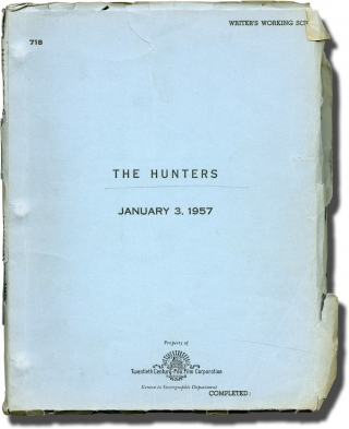 The Hunters (Original screenplay for the 1958 film). Dick Powell, Richard Murphy Wendell Mayes,...