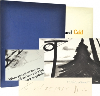 Warm and Cold (Limited Edition). David Mamet, Donald Sultan, author, illustrations