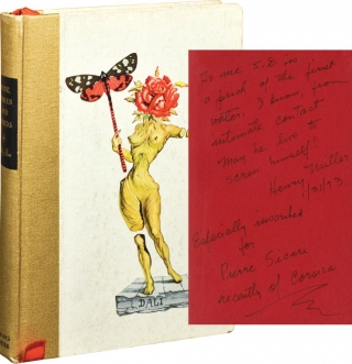 Wine, Women, and Words (First Edition, inscribed by Henry Miller). Billy Rose, Salvador Dali,...