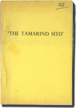 The Tamarind Seed (Original screenplay for the 1974 film, with six original film still...