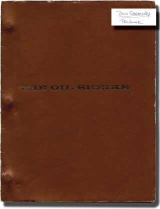 Ilsa, Harem Keeper of the Oil Sheiks [The Oil Sheiks] (Original screenplay for the 1976 film,...