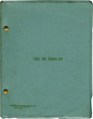 Yentl The Yeshiva Boy (Original script for the 1974 play). Isaac Bashevis Singer, Leah Napolin,...
