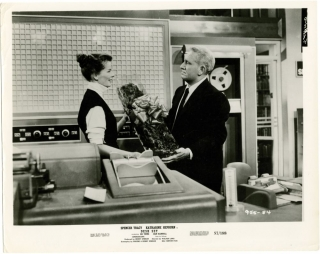 Desk Set (Collection of 14 photographs from the 1957 film). Walter Lang, Pheobe Ephron, Henry...