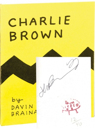Charlie Brown (Signed Limited Edition). Davin Brainard