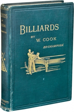 "Billiards (UK Edition, later printing with ""Ex Champion""). W. Cook, William."