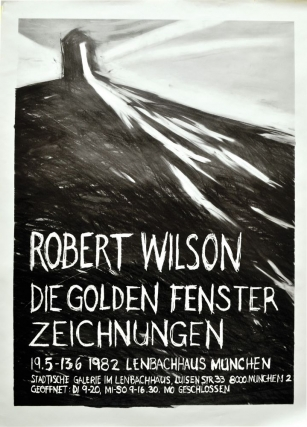 Die Golden Fenster Zeichnungen: 19.5 - 13.6 1982 [The Golden Windows Exhibition] (Original poster...