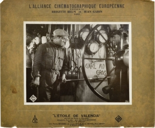 L'etoile de Valencia (Two oversize photographs from the 1933 film). Serge de Poligny, Axel Rudolf...