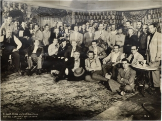I Shot Jesse James (Oversize original cast photograph from the 1949 film). Samuel Fuller, Milton Gold, Reed Hadley John Ireland, screenwriter director, still photographer, starring.