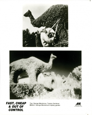 Fast, Cheap, and Out of Control (Original Film Press Kit, with photos). Errol Morris, director