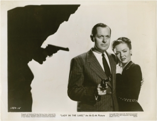 Lady in the Lake (Original photograph from the 1947 film). Robert Montgomery, Raymond Chandler,...