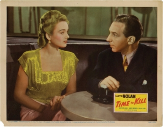 Time to Kill (Lobby card from the 1942 film). Herbert I. Leeds, Raymond Chandler, Clarence Upson...