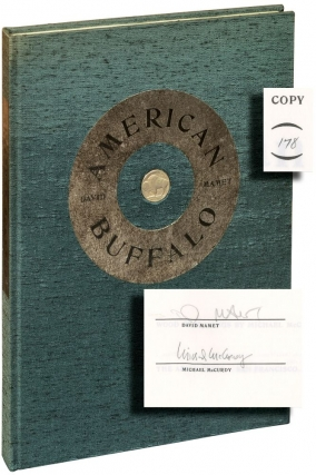 American Buffalo (Signed Limited Ediiton). David Mamet, Michael McCurdy, playwright, artist
