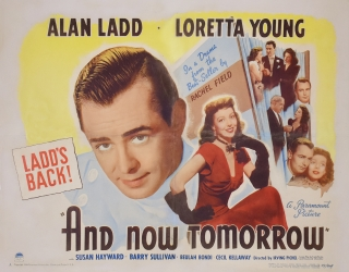 And Now Tomorrow (Original poster for the 1944 film). Raymond Chandler, Frank Partos, Irving...