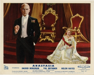 Anastasia (Collection of 8 original British front-of-house cards from the 1956 film). Anatole...