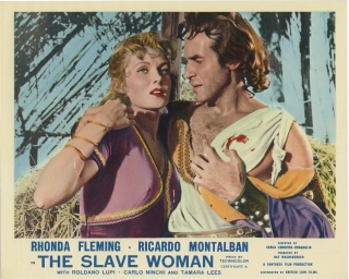 The Slave Woman [The Queen of Babylon] (Collection of 8 photographs from the 1954 film). Carlo...