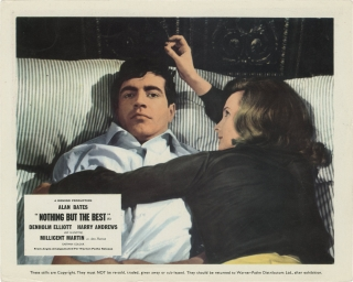 Nothing But the Best (Original double weight photograph from the 1964 film). Clive Donner,...