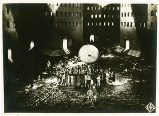Metropolis (UFA still photograph from the 1927 film). Fritz Lang, Thea von Harbou, director,...
